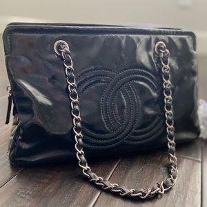 Chanel Black Handbag Purse Tote